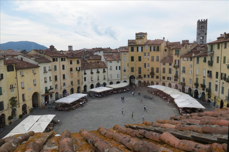 Lucca - View from vacation rental