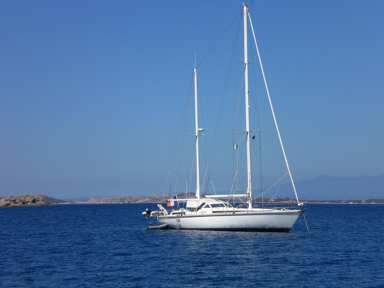 Sailing off Sardinia, Italy