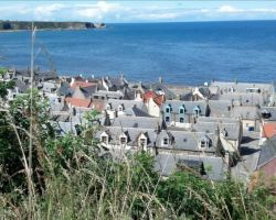 View from village near Portsoy