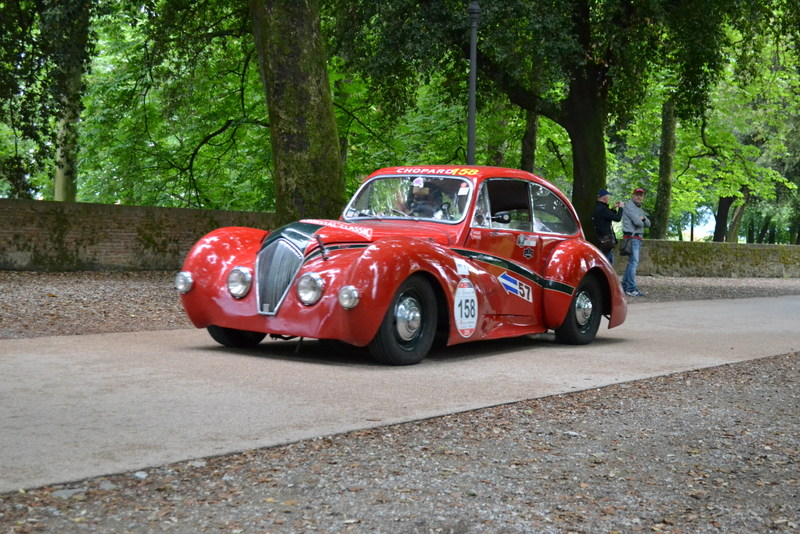 The Mille Miglia in Lucca